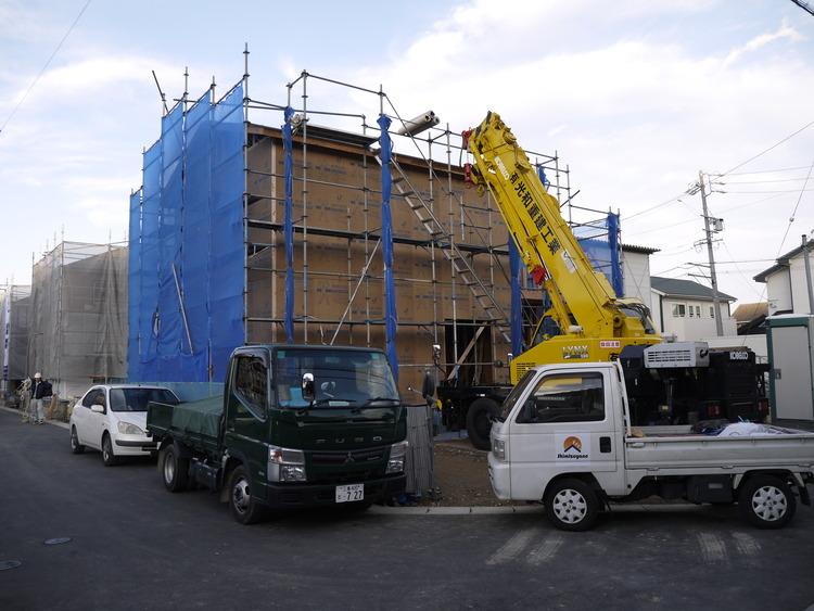 M様邸 建て方 (四日市市采女町)