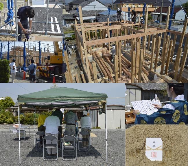 亀山市アイリス町「ガレージのある家」完成見学会 最終日
